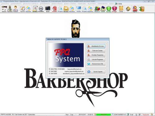 Programa Para Barbearia Barbershop Vendas e Financeiro v4.0 plus - Fpqsystem 409035