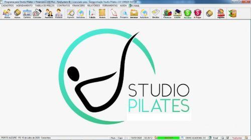 Programa para Gerenciar Studio de Pilates com Agendamento  Financeiro v3.0 Plus - Fpqsystem 580004