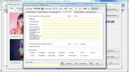 Programa para Gerenciar Studio de Pilates com Agendamento  Financeiro v3.0 Plus - Fpqsystem 580010