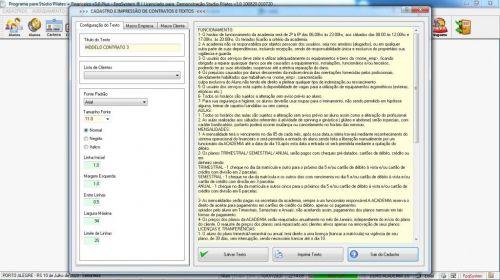 Programa para Gerenciar Studio de Pilates com Agendamento  Financeiro v3.0 Plus - Fpqsystem 580016