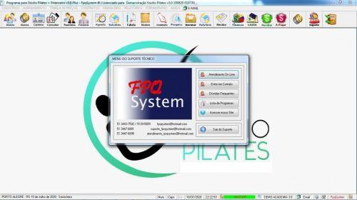 Programa para Gerenciar Studio de Pilates com Agendamento  Financeiro v3.0 Plus - Fpqsystem 580023