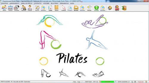 Programa para Gerenciar Studio de Pilates com Agendamento v2.0 - Fpqsystem 579985