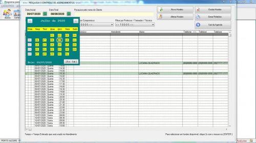 Programa para Gerenciar Studio de Pilates com Agendamento v2.0 - Fpqsystem 579986