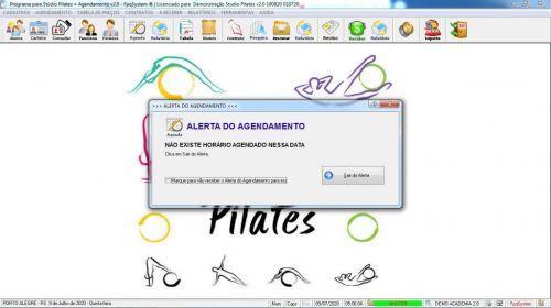 Programa para Gerenciar Studio de Pilates com Agendamento v2.0 - Fpqsystem 579987