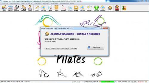 Programa para Gerenciar Studio de Pilates com Agendamento v2.0 - Fpqsystem 579988