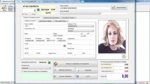 Programa para Gerenciar Studio de Pilates com Agendamento v2.0 - Fpqsystem 579995