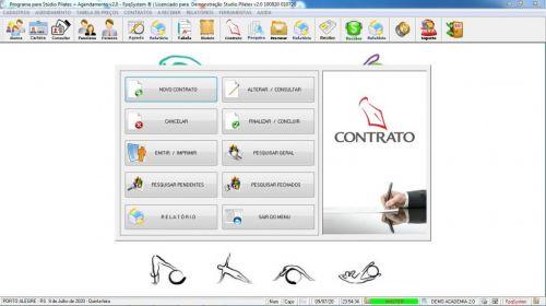 Programa para Gerenciar Studio de Pilates com Agendamento v2.0 - Fpqsystem 580002