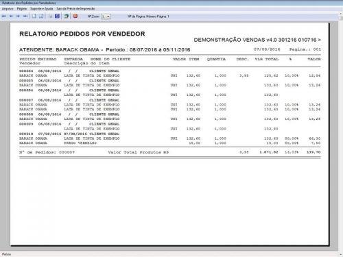 Programa Para Pedido Vendas Estoque e Financeiro V4.0 Plus - Fpqsystem 409249