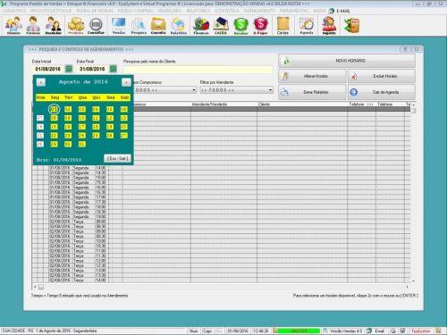 Programa Para Pedido Vendas Estoque e Financeiro V4.0 Plus - Fpqsystem 409251
