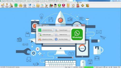 Programa Pedido de Vendas e Estoque com Financeiro v5.0 Plus  Whatsapp - Fpqsystem 588700