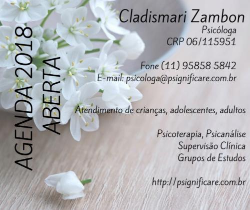 Psicologa Clínica Cladismari Zambon 382526