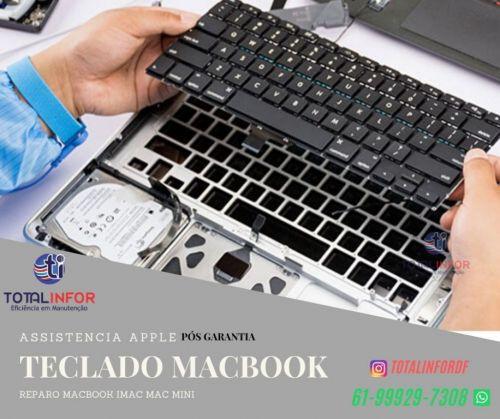 Reparo Macbook Touch Bar - Macbook Retina - Placa Mãe - Placa Logica - Teclado Bateria Total Infor 542450
