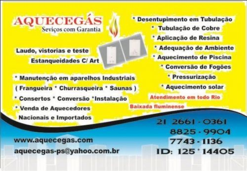Rio de Janeiro instalação boiler à gás elétrico solar 2661-0361 484253