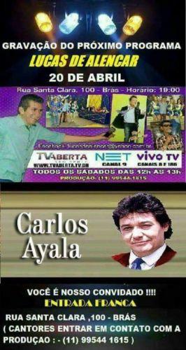 show com a melhor musica ao vivo com Carlos Ayala Show International com seu teclado ou com músicos 447035
