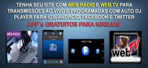 Site para Igrejas com Web Tv Online e App Grátis 362294