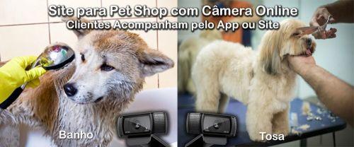 Site para Pet Shop com Câmera Online via Apliccativo e Site 574955