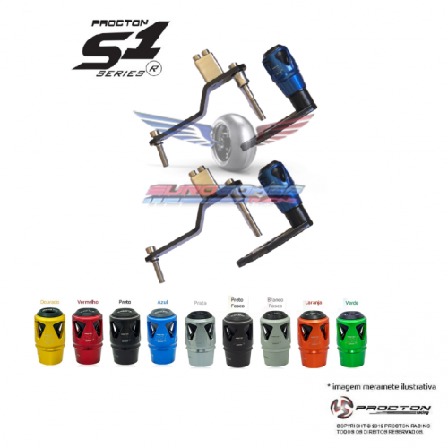 Slider Procton Racing Modelo S1 R3 Ano 2020 546909