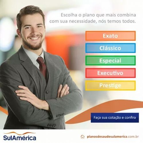 Sul América Seguros - Planos Empresariais -71  98613-6702 ; 85 98840-3462 502976