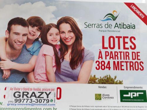 Terrenos Á Venda Em Atibaia Excelente Localização  427855