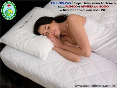 Travesseiros e Colchões Pillow-pax – anti Ronco - Apneia do Sono - Torcicolos - Câimbras e Insônia 536717