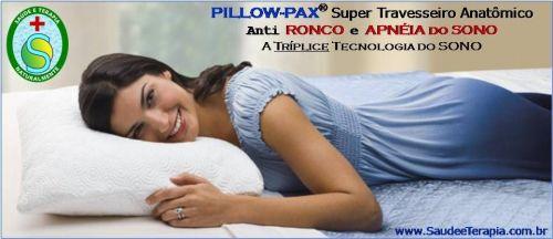 Travesseiros e Colchões Pillow-pax – anti Ronco - Apneia do Sono - Torcicolos - Câimbras e Insônia 536720