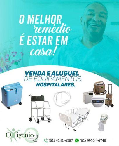 Venda e Locação de equipamentos hospitalares em Brasília 61 4141-6587  9 9282-6778 372597